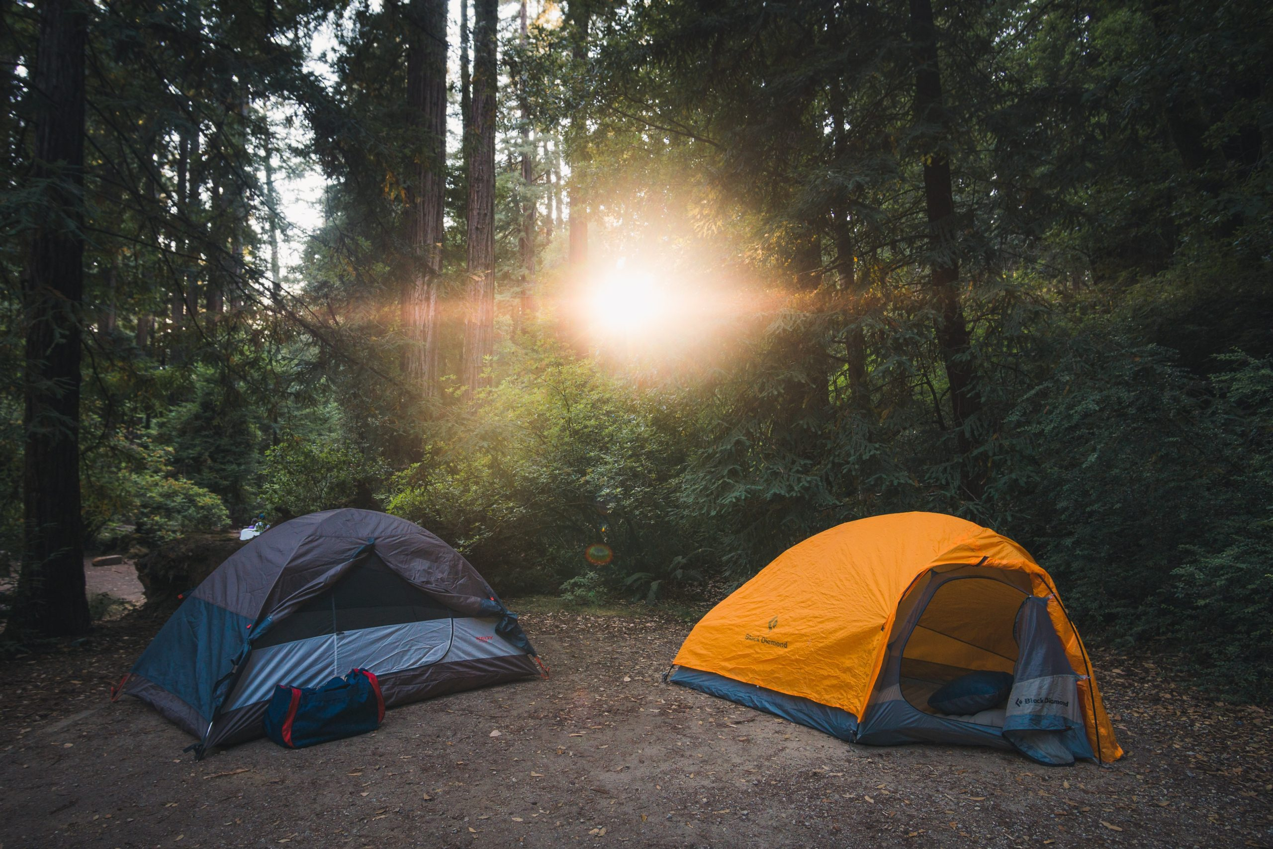 Two Camping Tents