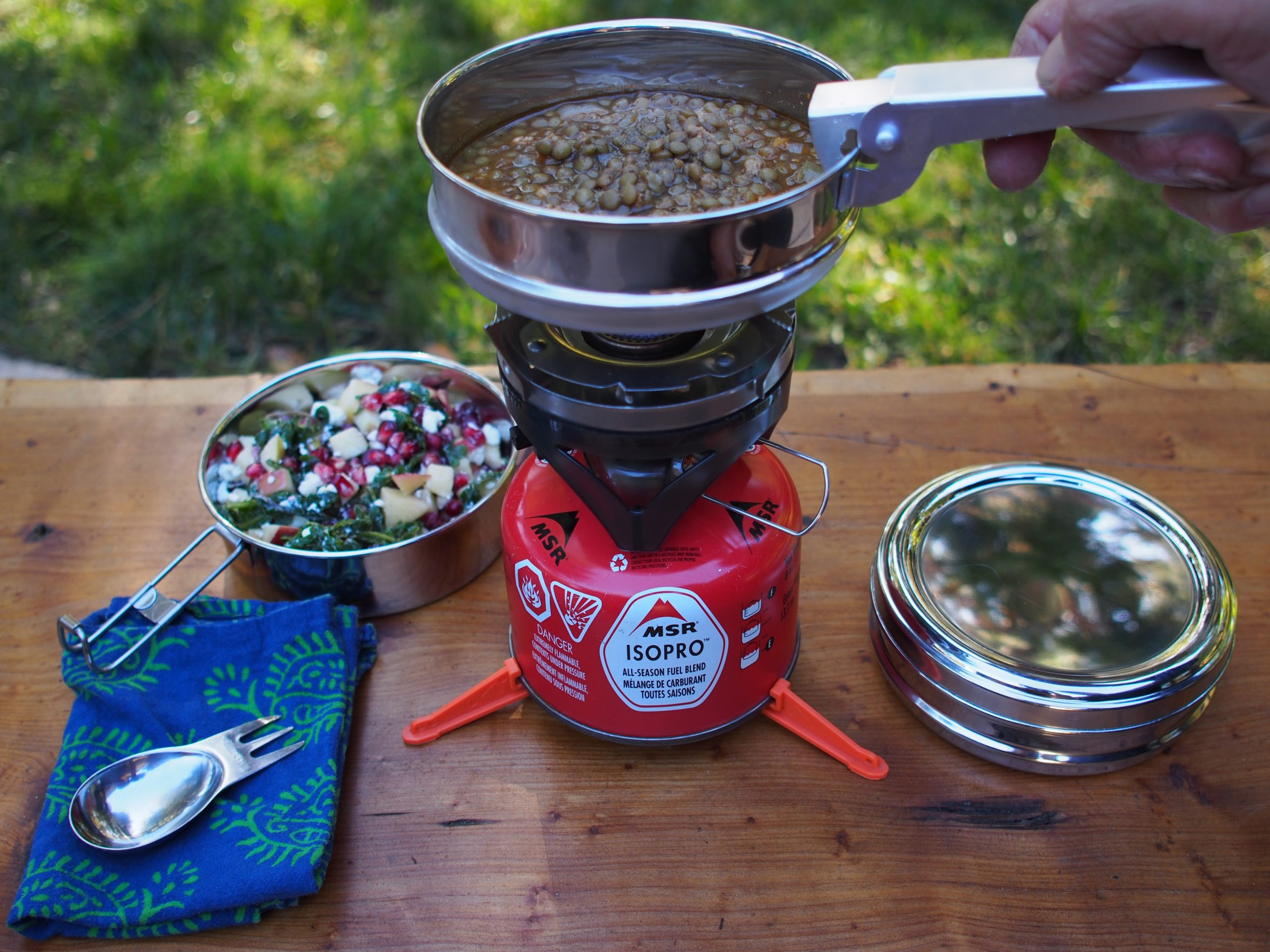 Camping Stoves with gas filled